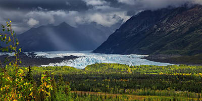 Alaska Mountains Photograph - Mat-su Ray by Ed Boudreau