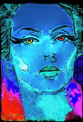Digital Art - Mata Hari by Chuck Staley