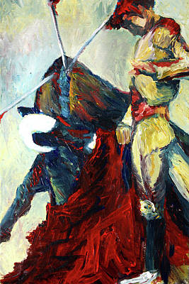 Painting - Matador by Frank Botello