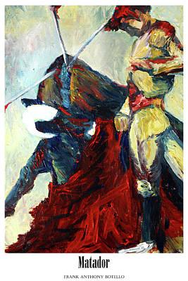 Painting - Matador II by Frank Botello