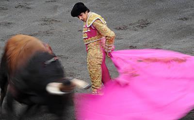 Corrida Photograph - Matador Sebastian Castella by Rafa Rivas