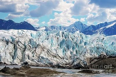 Photograph - Matanusak Glacier Front Edge by David Arment