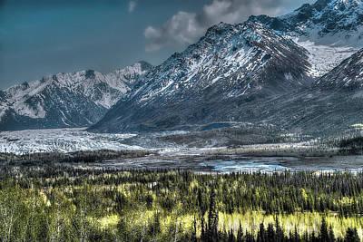 Photograph - Matanuska Glacier, Alaska by Dyle Warren