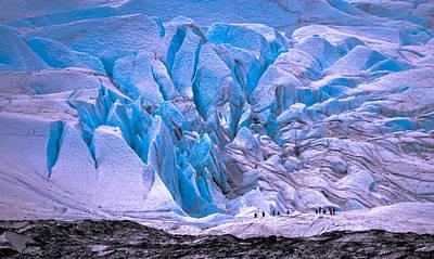 Photograph - Matanuska Glacier by Brian Stevens