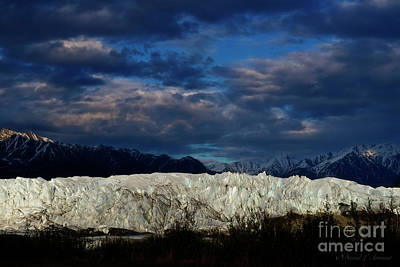 Photograph - Matanuska Glacier by David Arment