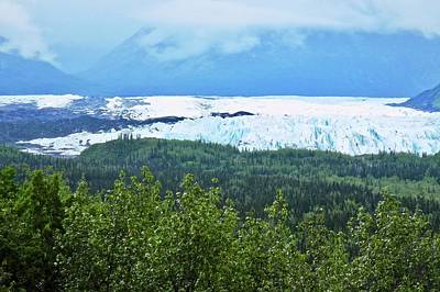 Photograph - Matanuska Glacier In Alaska by Kirsten Giving