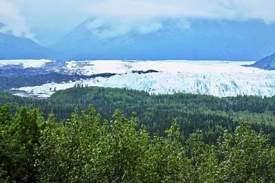 Photograph - Matanuska Glacier In Alaska by Kirsten Giving