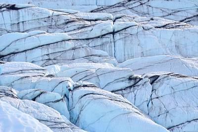 Photograph - Matanuska Glacier by KJ Swan