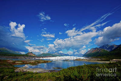 Photograph - Matanuska Glacier Midday by David Arment