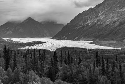 Photograph - Matanuska Glacier by Sara Hudock