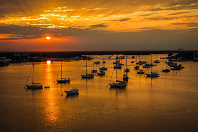 Photograph - Matanzas Harbor by Ron Pate