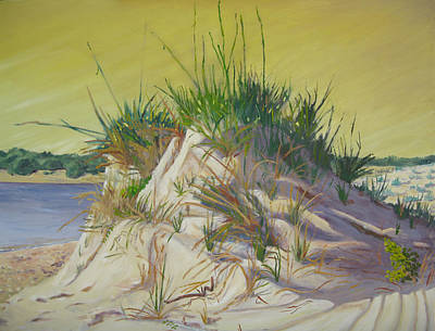 Painting - Matanzas Inlet Late Afternoon by D T LaVercombe
