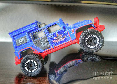 Photograph - Matchbox Jeep by Tony Baca