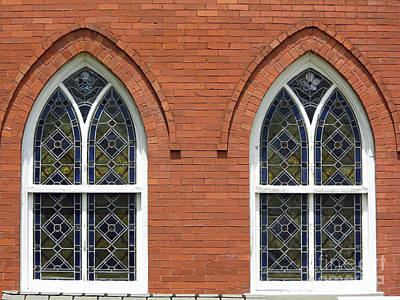 Photograph - Matching Windows by D Hackett