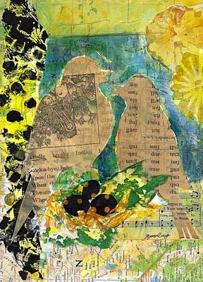 Mixed Media - Mater And Pater by Jillian Goldberg