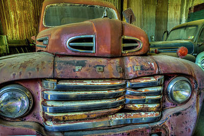 Photograph - Mater From Cars by Jerry Gammon