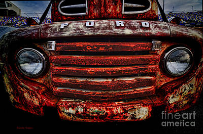 Photograph - Rusty Smile by Randy Rogers
