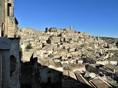 Photograph - Matera Ancient City by Laurie Morgan