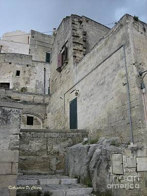 Photograph - Matera Houses by Italian Art