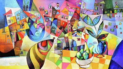 Painting - Matera by Miljenko Bengez