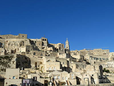 Photograph - Matera Sassi by Laurie Morgan