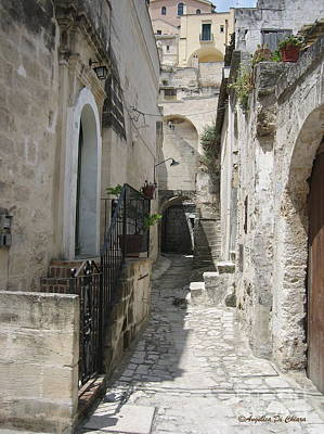 Photograph - Matera Stroll by Italian Art
