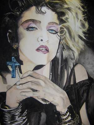 Painting - Material Girl by Lance Gebhardt