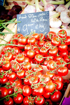 Art Print featuring the photograph 'maters by Jason Smith