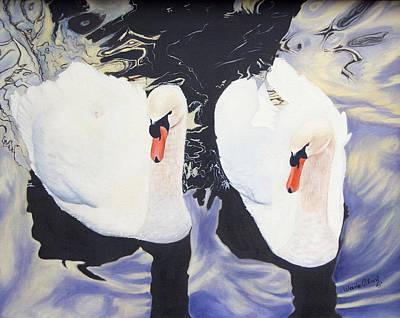 Mates Art Print