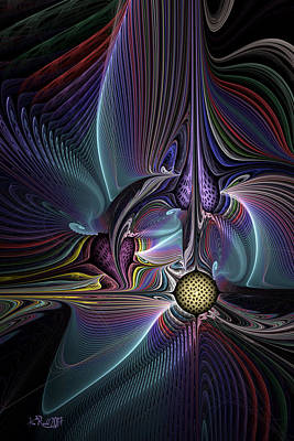 Digital Art - Math In Motion by Kim Redd