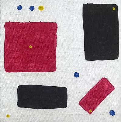 Painting - Math Problem by Phil Strang