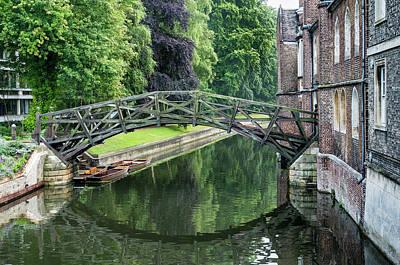 Photograph - Mathematical Bridge by Jean Noren