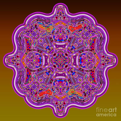 Digital Art - Mathematical Mandala by Warren Sarle