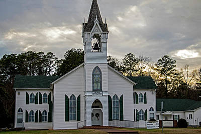 Photograph - Mathews Baptist Church by Jean Haynes