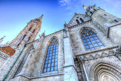 Photograph - Mathias Church Budapest by David Pyatt