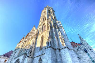 Photograph - Mathias Church Budapest Hungary by David Pyatt