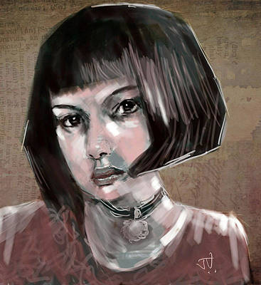 Painting - Mathilda by Jim Vance