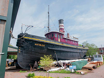 Photograph - Mathilda The Tug by Steve Sahm