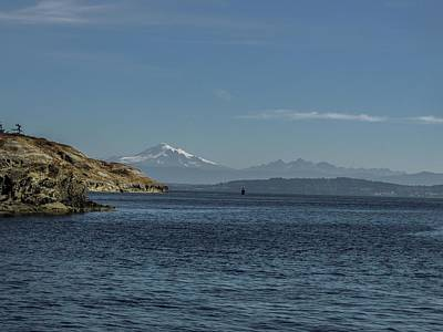 Photograph - Matia Island And Komo Kulshan  by NaturesPix