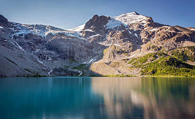Photograph - Matier Glacier At Joffre Lakes by Pierre Leclerc Photography