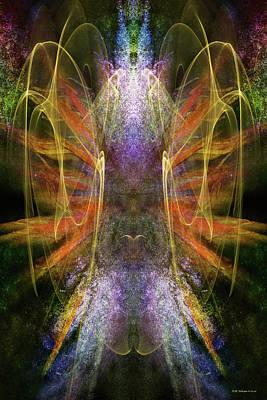 Digital Art - Mating Dance by WB Johnston