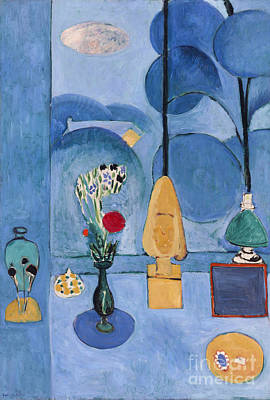 Painting - Matisse, Blue Window, 1913. by Granger
