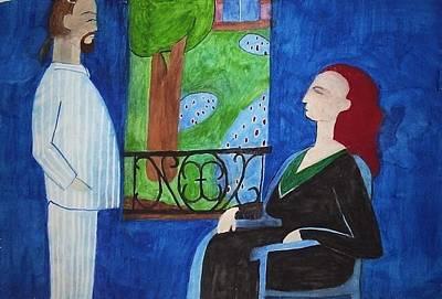 20thc Painting - Matisse by William Douglas