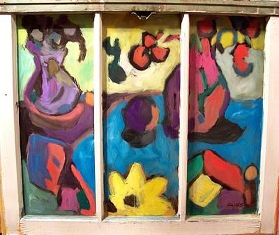 Painting - Matissestille  by Mykul Anjelo