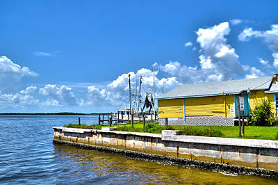 Art Print featuring the photograph Matlacha Florida Waterway by Timothy Lowry
