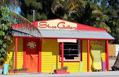 Photograph - Matlacha Shoe Gallery by Michiale Schneider