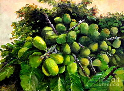 Painting - Matoa Fruit by Jason Sentuf