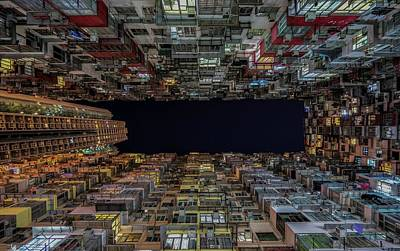 Urban Architecture, Hong Kong Art Print
