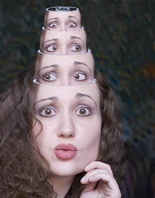 Photograph - Matrishka Dolls by Joel Gilgoff