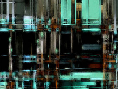 Digital Art - Matrix 4 by David Hansen